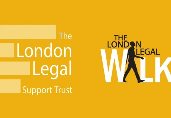 Joining the London Legal Walk for the London Legal Support Trust