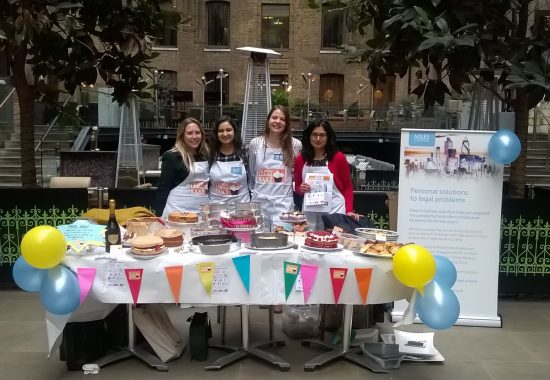 Miles & Partners fundraise for the Great Legal Bake 2017
