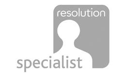 Resolution specialist professional logo