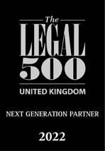 The Legal 500 New Generation Partner 2022 logo