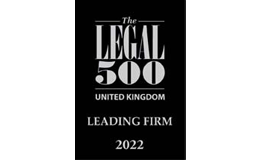 The Legal 500 Leading Firm 2022 logo