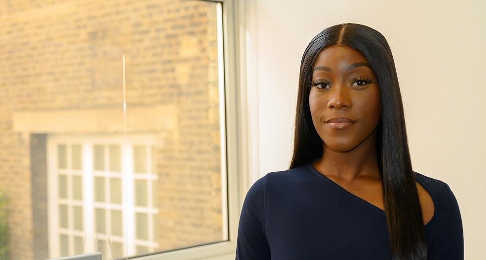 Camika Boamah, trainee solicitor at Miles & Partners