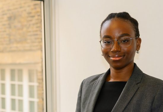 Kim Duah, trainee solicitor at Miles & Partners